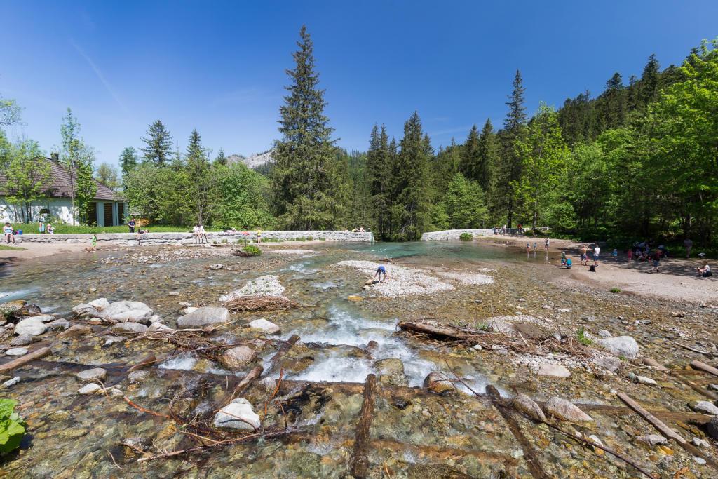 Potok Bystrej w Tatrach
