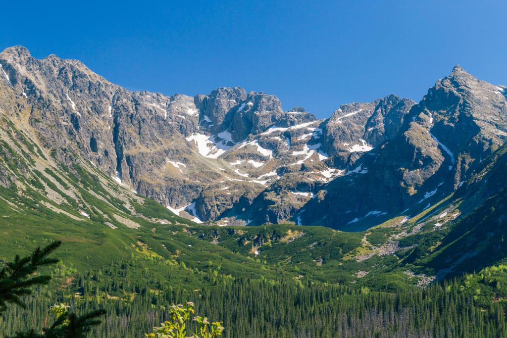 Góry otaczające Halę Gąsienicową, Tatry