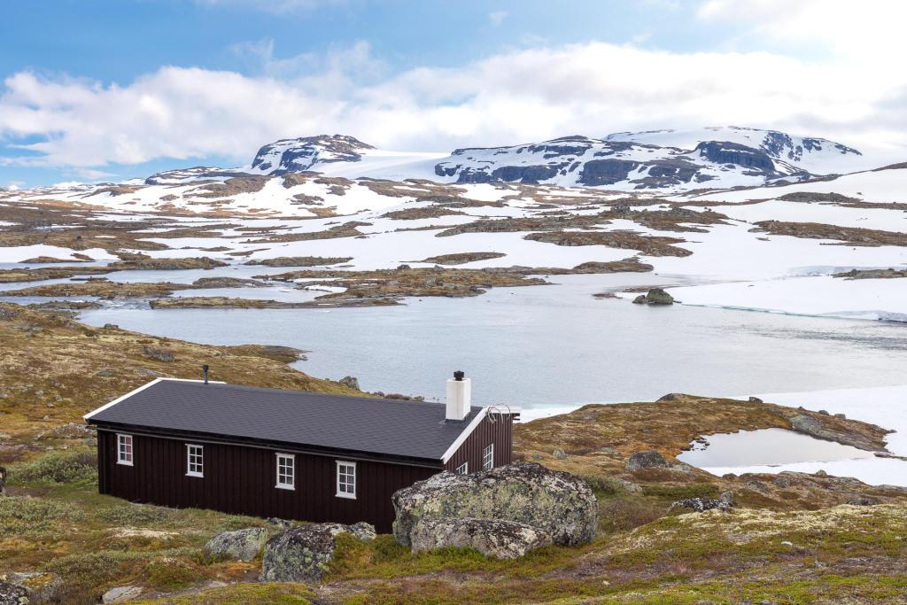 Rallarvegen - okolice Finse