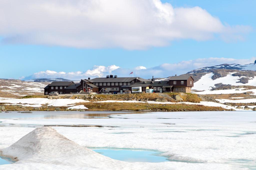 Rallarvegen - schronisko w Finse