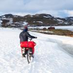 Rallarvegen - szukamy drogi pod lodowcem