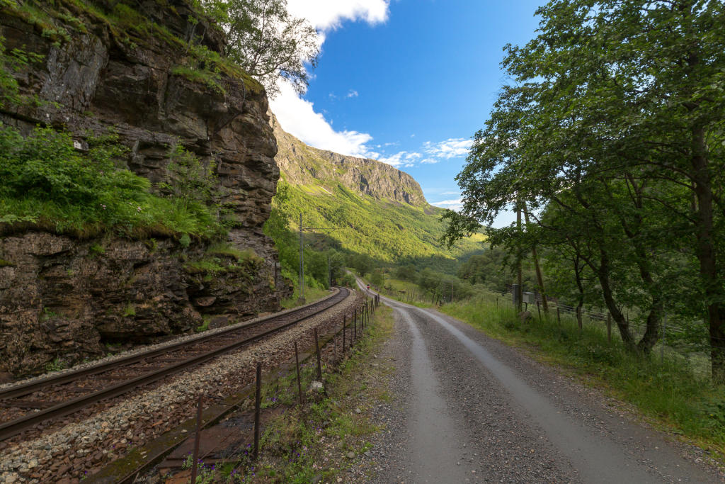 Bajkowa trasa rowerowa: Myrdal - Flåm