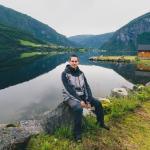 Jezioro Granvinsvatnet. W drodze do Ulvika