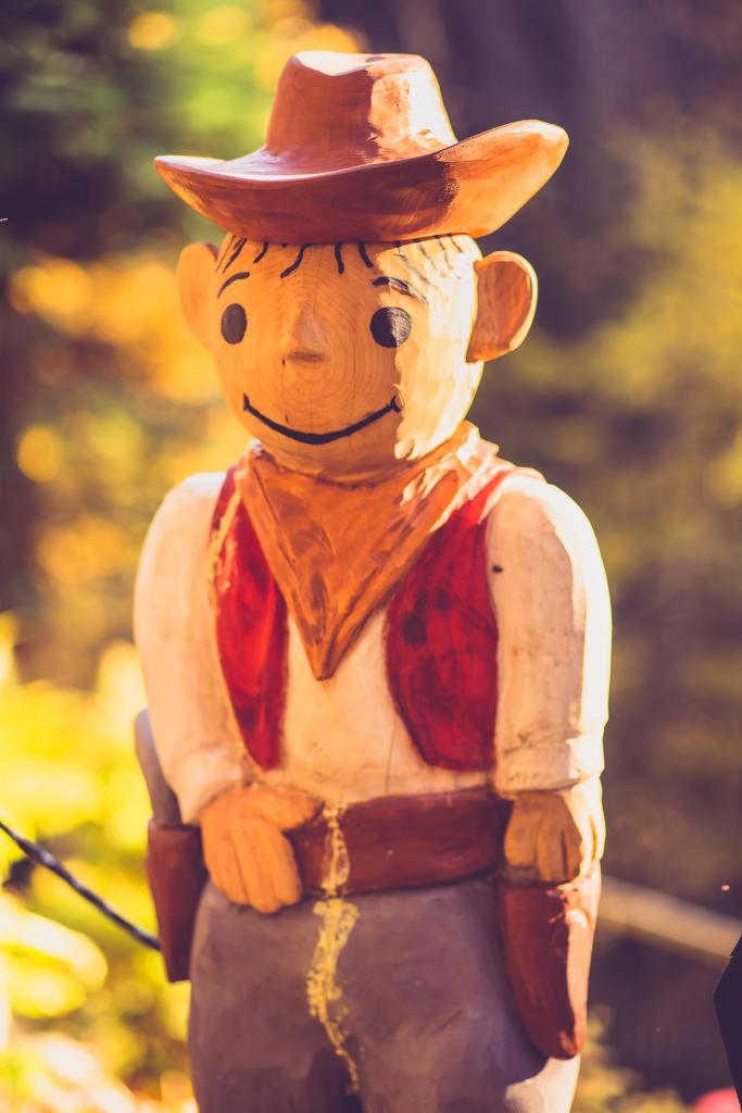 Lolek w Ogrodzie Bajek w Międzygórzu