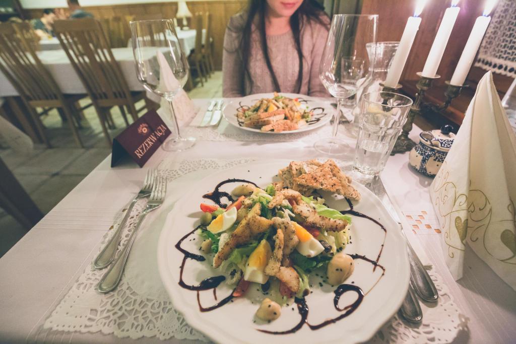 Romantyczna kolacja w Alpejskim Dworze
