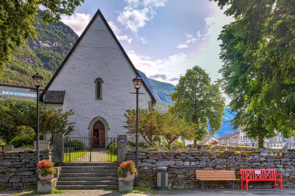 Kościół Vangen w Aurland
