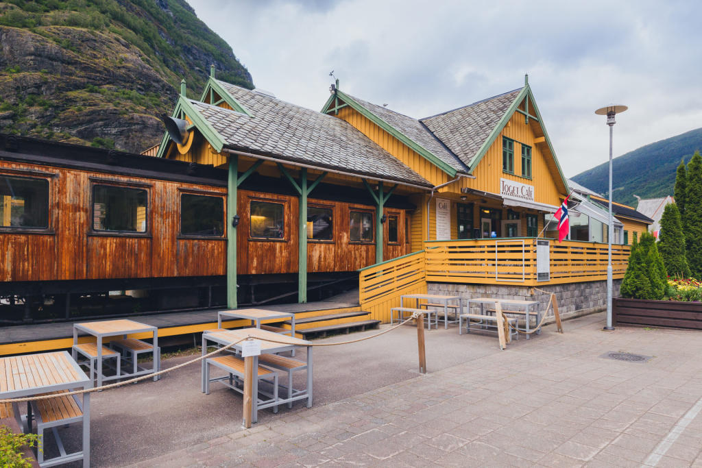 Toget Cafe we Flåm