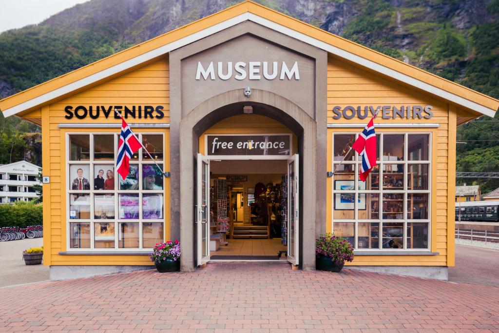 Muzeum Kolejki Flåmsbana we Flåm