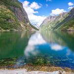 Malowniczy Nærøyfjord