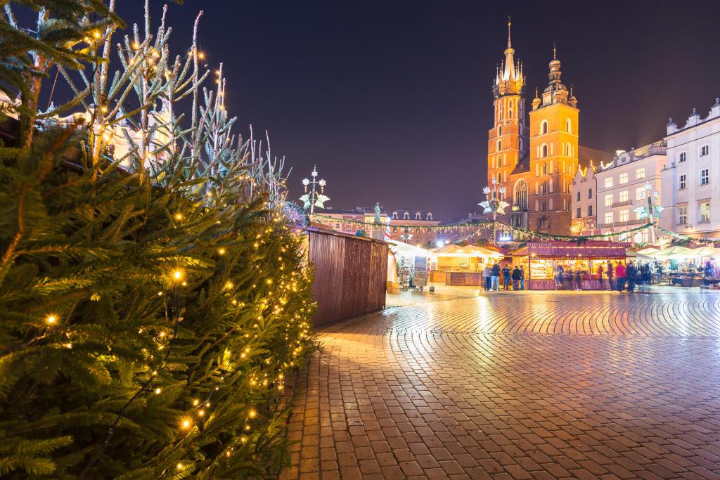 Świąteczny Kraków: jarmark