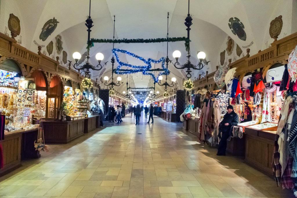 Świąteczny Kraków: Sukiennice