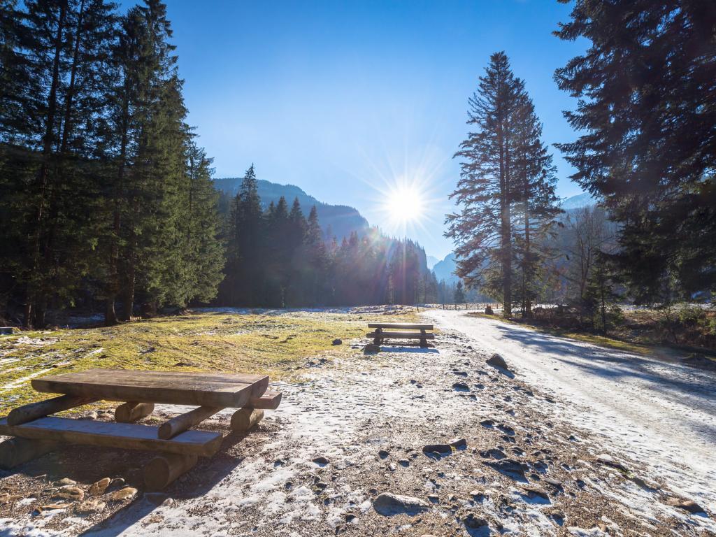 Zimowa Dolina Kościeliska