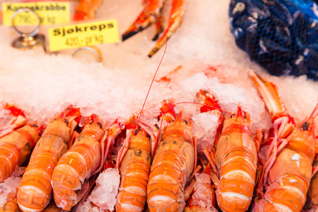 Targ rybny Torget w Bergen