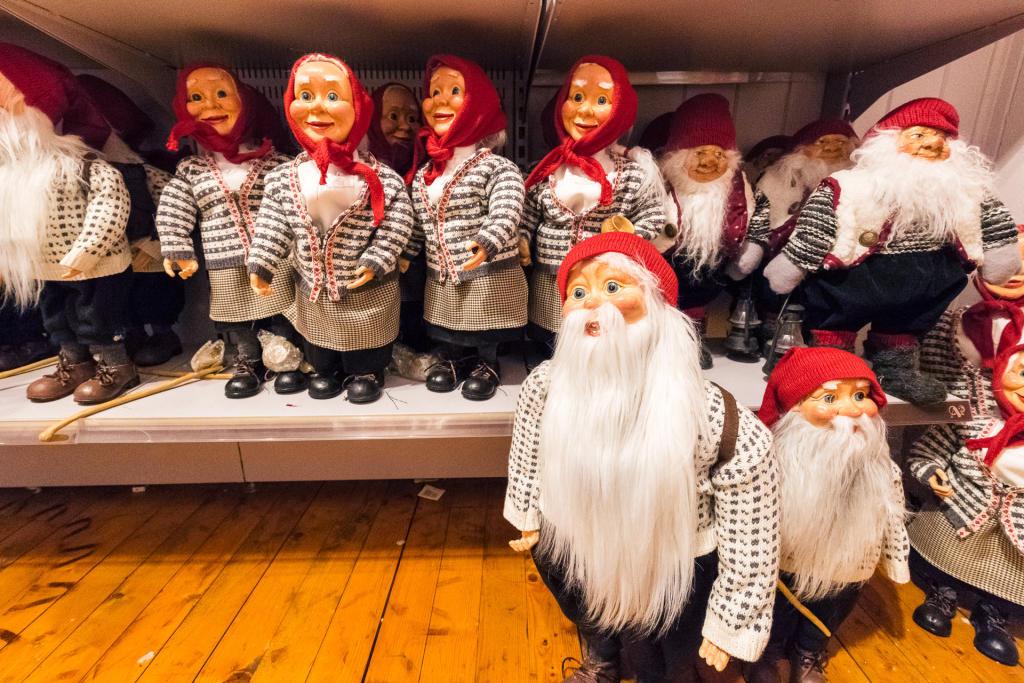 Świąteczny sklep w Bryggen