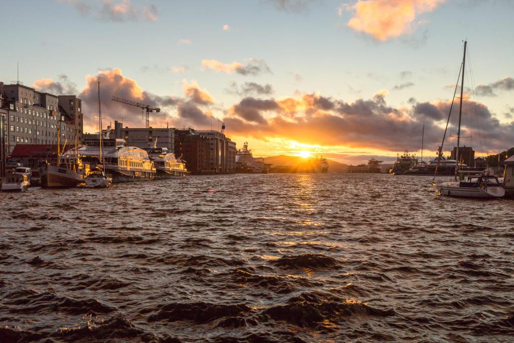 Port w Bergen