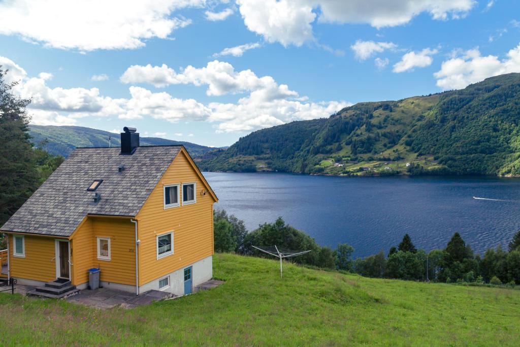 Fjord w okolicach Bergen