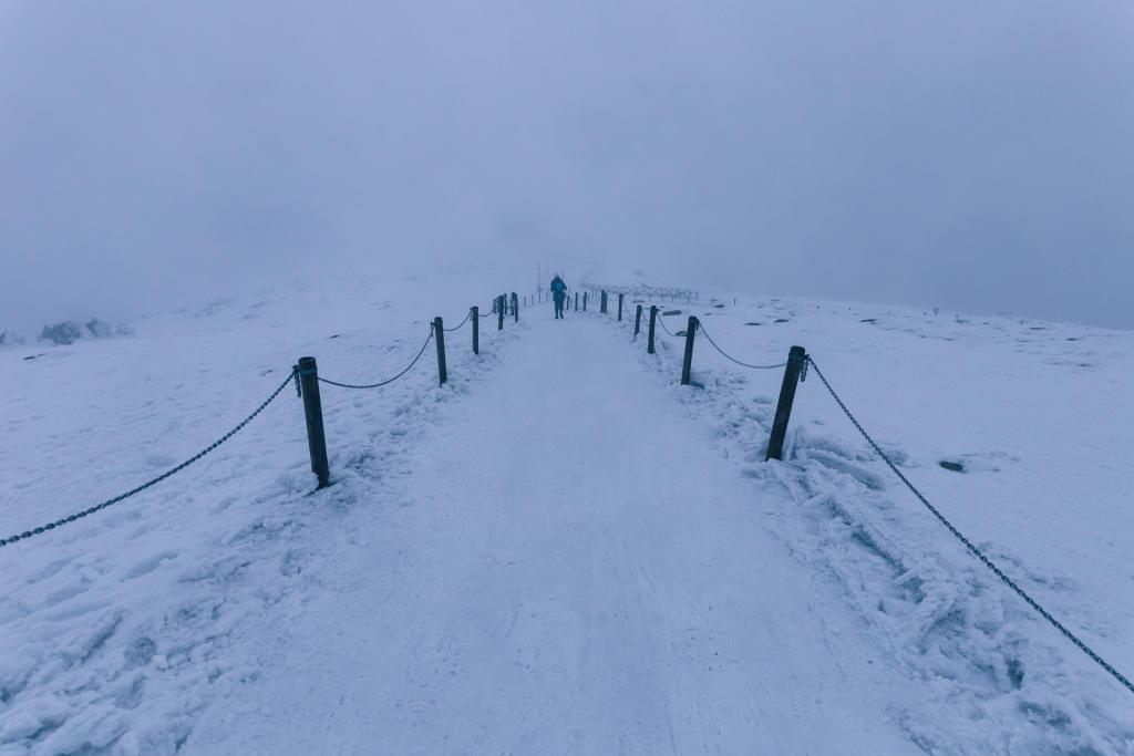 Karkonosze - droga na Śnieżkę