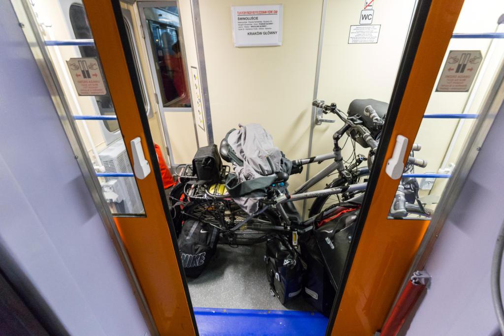 Przewóz rowerów w TLK