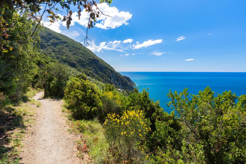 Szlak pieszy przez Cinque Terre