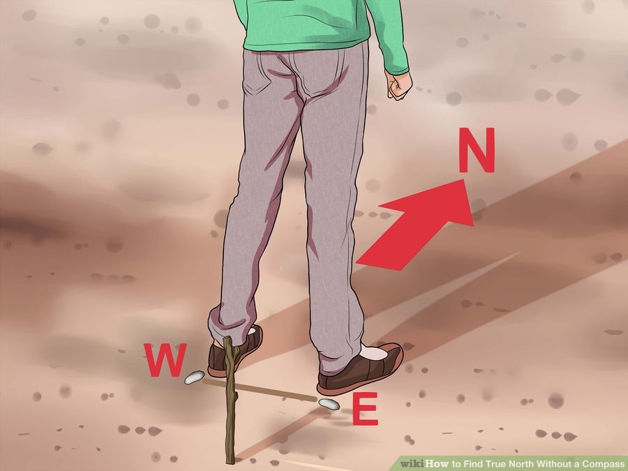 Źródło zdjęcia: http://www.wikihow.com/Find-True-North-Without-a-Compass