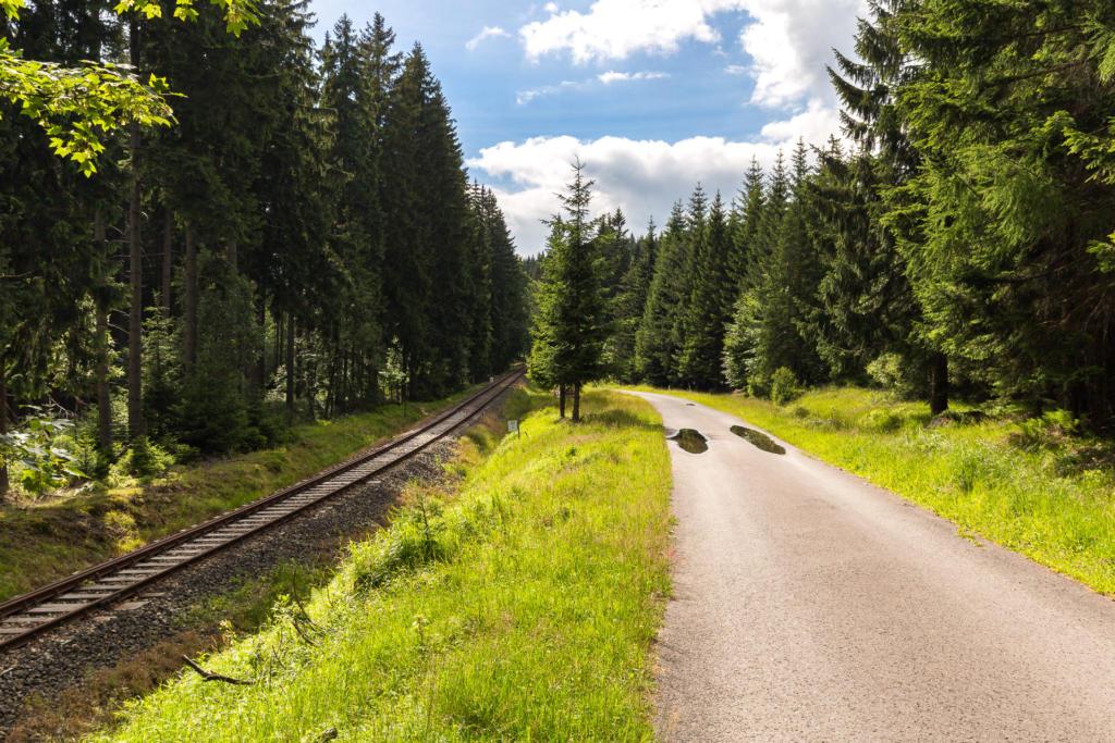 Trasa rowerowa: Szklarska Poręba - Jakuszyce