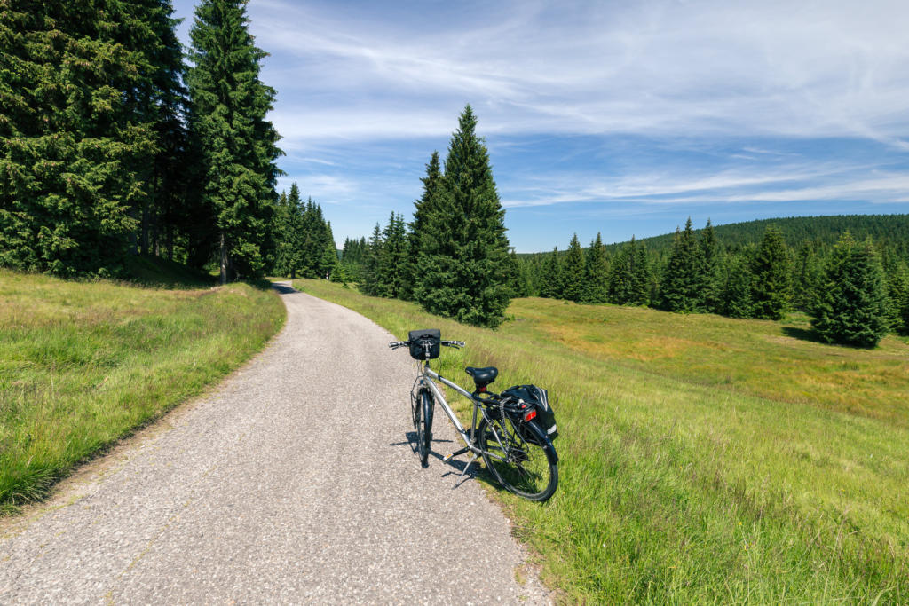 Szlak rowerowy: Jakuszyce - Świeradów-Zdrój