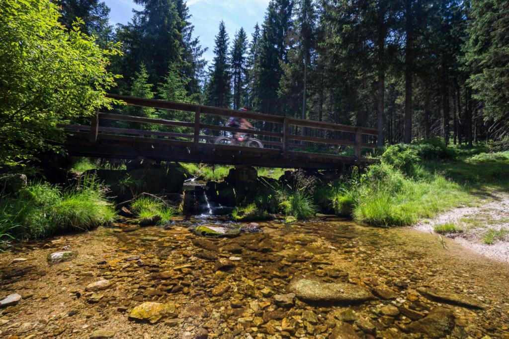 Jagnięcy Potok w Górach Izerskich