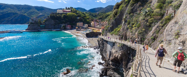 Trekking przez malownicze Cinque Terre